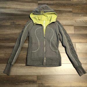 Limited edition Lululemon scuba hoodie